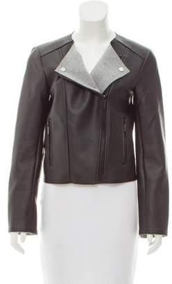 MICHAEL Michael Kors Coated Faux-Leather Jacket