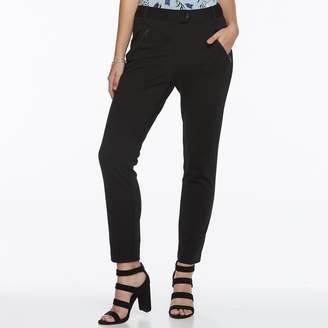 Candies Juniors' Candie's Zip-Pocket Ankle Pants
