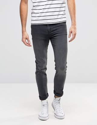 Cheap Monday Tight Skinny Jeans True Gray $80 thestylecure.com