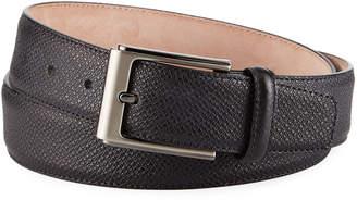 Magnanni Men's Grabado Leather Belt