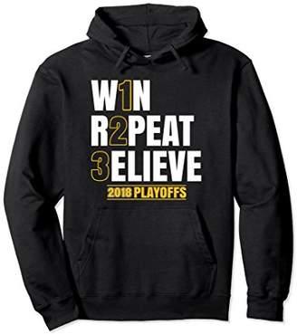 3ELIEVE Hoodie Believe in 3 Peat Hoodie 2018 Playoffs Hoodie