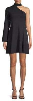 Susana Monaco One-Shoulder A-Line Dress