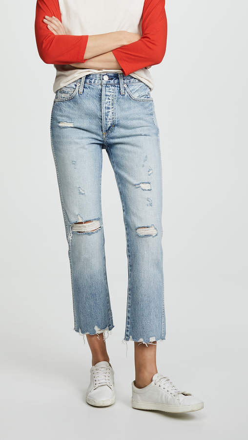 Loverboy Relaxed Straight Leg Jeans
