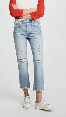 Amo Loverboy Relaxed Straight Leg Jeans