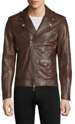 Belstaff Sidmouth Leather Moto Jacket