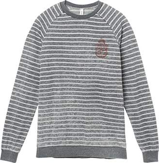 RVCA Junior's Safe Harbor Crew Neck Sweatshirt