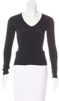 Dolce & Gabbana Long Sleeve Knit Top