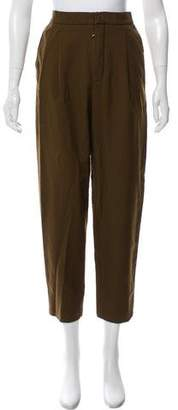 Chloé High-Rise Cropped Pants