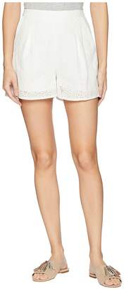 BCBGeneration Pull-On Pleated Shorts Women's Shorts