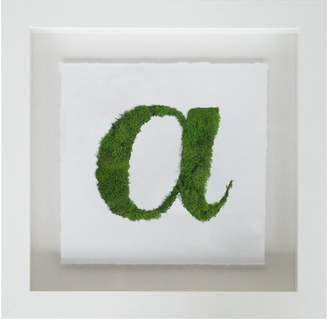 Oliver Gal Calligraphy a Nature Moss 3D Live Art