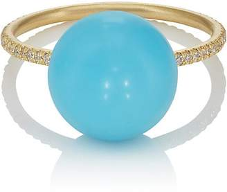 Irene Neuwirth Women's Turquoise Sphere Ring