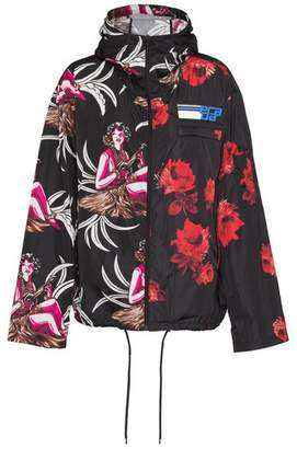 Prada Printed Feather Nylon Jacket