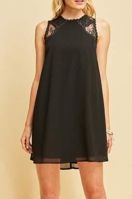 Entro Little Lace-Detail Dress