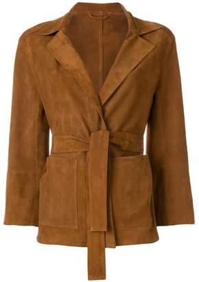 Sylvie Schimmel V-neck belted jacket