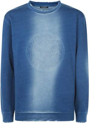 Balmain Distressed Sweater