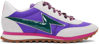Marc Jacobs Purple Astor Jogger Sneakers $295 thestylecure.com