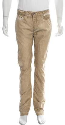 Massimo Alba Distressed Skinny Jeans tan Distressed Skinny Jeans