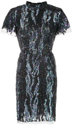 HANEY Syd sequined mini dress