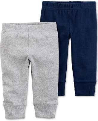 Carter's Little Planet Organics 2-Pack Cotton Jogger Pants, Baby Boys