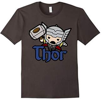 Marvel Thor The Mighty Kawaii Cute Jump Graphic T-Shirt