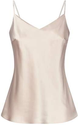 Marjolaine Silk Camisole Top