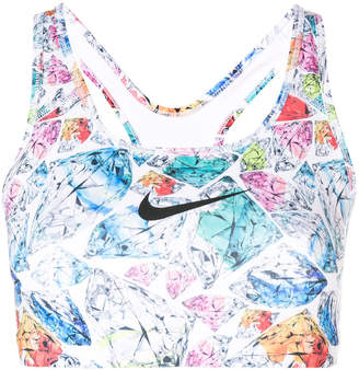Nike Swoosh diamond sports bra