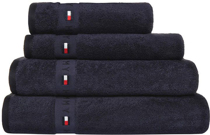 Plain Navy Range Towel - Bath Towel