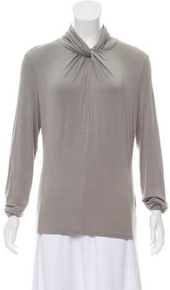 Armani Collezioni Jersey Long Sleeve Top