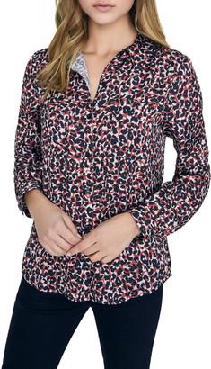 Sanctuary Monday to Sunday Animal Print Button-Up Shirt