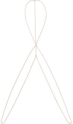 Catbird - Rapunzel 14-karat Gold Diamond Body Chain
