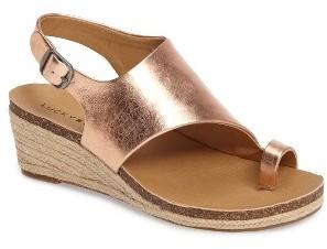 Women's Lucky Brand Jannan Wedge Sandal $88.95 thestylecure.com