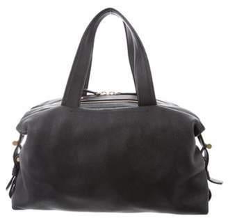 Reed Krakoff Textured Leather Satchel Black Textured Leather Satchel