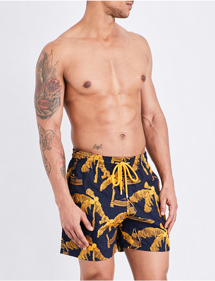 Vilebrequin Mistral palm tree-embroidered swim shorts $420 thestylecure.com