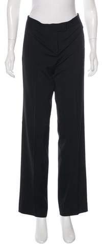 Michael Kors Mid-Rise Wide-Leg Pants
