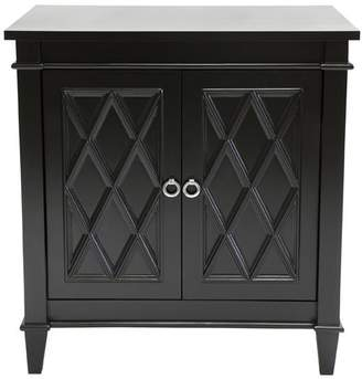 Cafe Lighting Plantation Cabinet/bedside Table Black