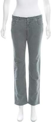 CNC Costume National Mid-Rise Straight-Leg Jeans Grey Mid-Rise Straight-Leg Jeans