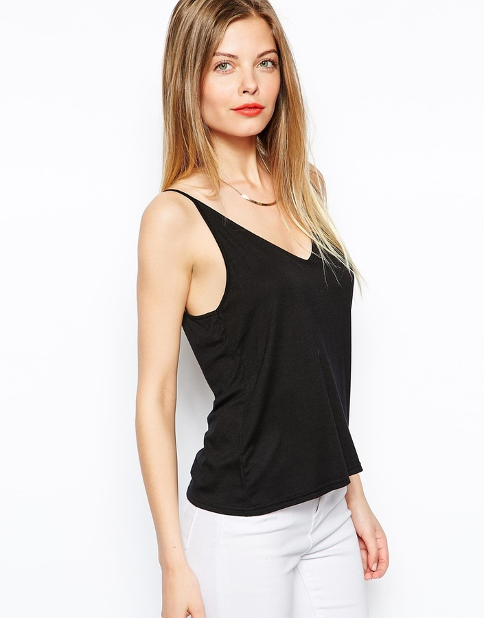 Asos Cami Top with Chain Strap Back