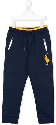 Ralph Lauren embroidered logo track pants