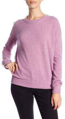 Minnie Rose Cut It Out Crew Neck Cashmere Sweater