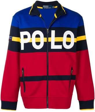 Polo Ralph Lauren zipped logo sweater