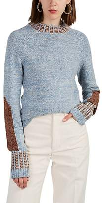 Land of Distraction Women's Union Cotton-Blend Sweater