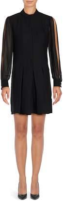 Cynthia Steffe Women's Arden Long Sleeve A-Line Dress
