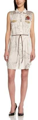 Desigual Women's CAM_SILVER_42C2214 T-Shirt