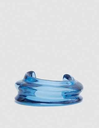 Lizzie Fortunato Sculptural Cuff in Blue