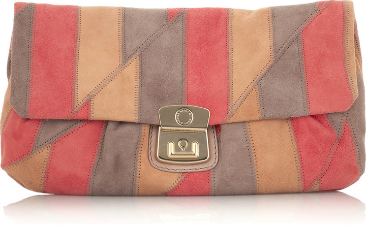 Marc by Marc Jacobs Linda suede clutch