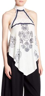 Free People Patterned Mandolin Tank