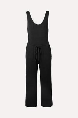 Eleven Paris SIX Yossy Ribbed Pima Cotton-blend Jumpsuit