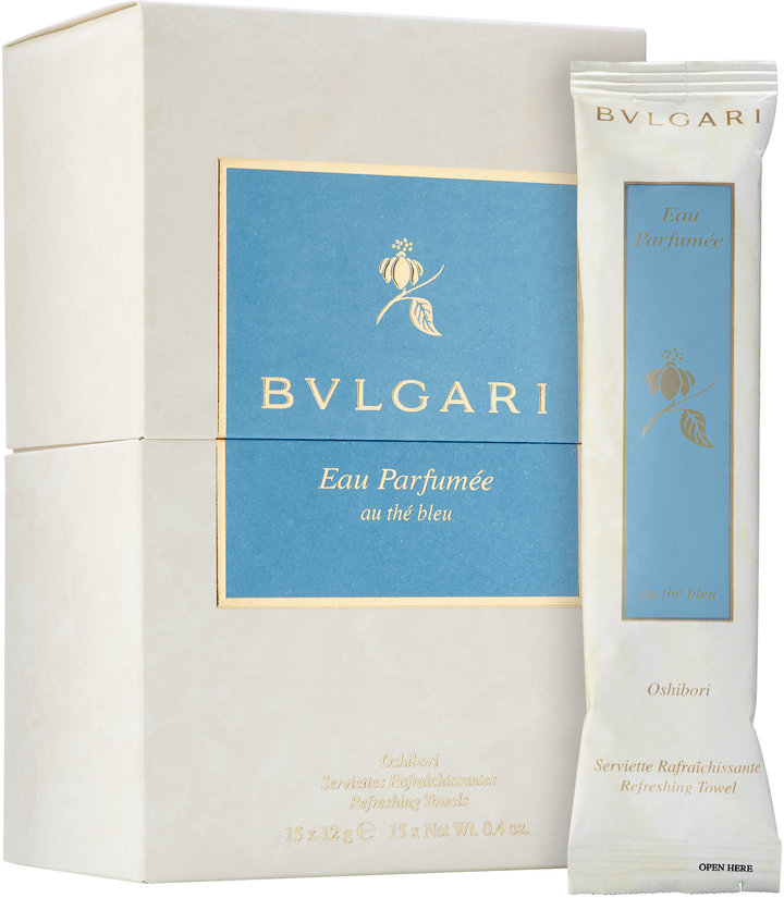 Bvlgari BVLGARI Eau Parfumée Au Thé Bleu Refreshing Towel Kit