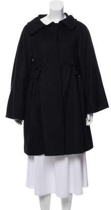 Giambattista Valli Cashmere Knee-Length Coat