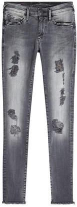 True Religion Halle Distressed Skinny Jeans